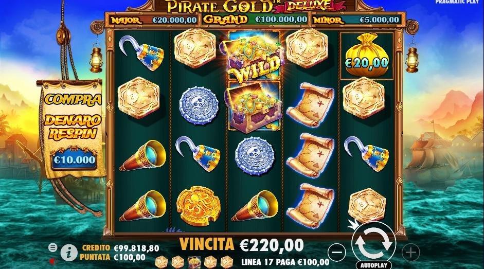 slot pirate gold deluxe pragamatic play