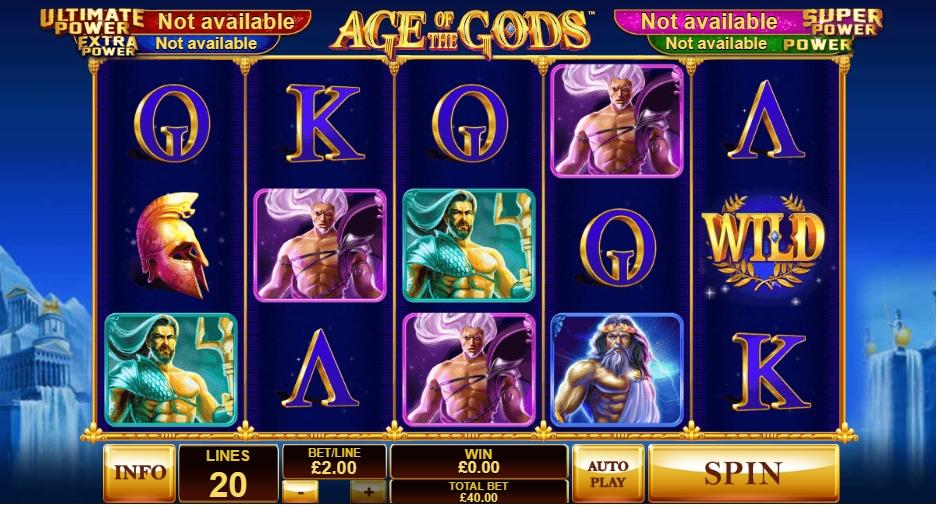 playtect recensione slot age of the gods
