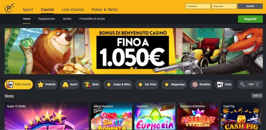 planetwin365 recensione casinomonkey